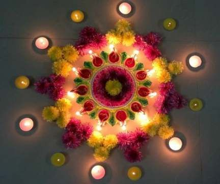 Top 9 Candle Decoration Ideas at Home this Diwali